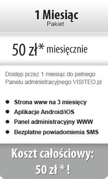 Pakiet miesięczny 50 zł netto