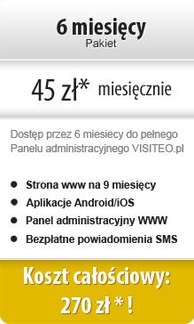 Pakiet 6 miesięczny 270 zł netto